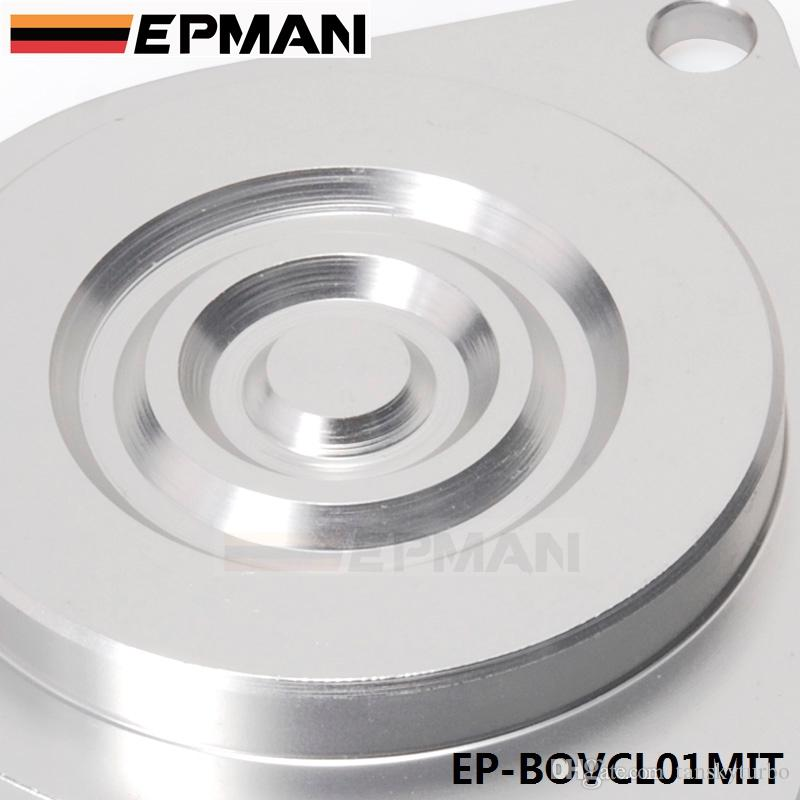 EPMAN - High Quality Auto Turbo Bypass Valve Blanking Plate For Mitsubishi CBV Block Off Plate EP-BOVCL01MIT