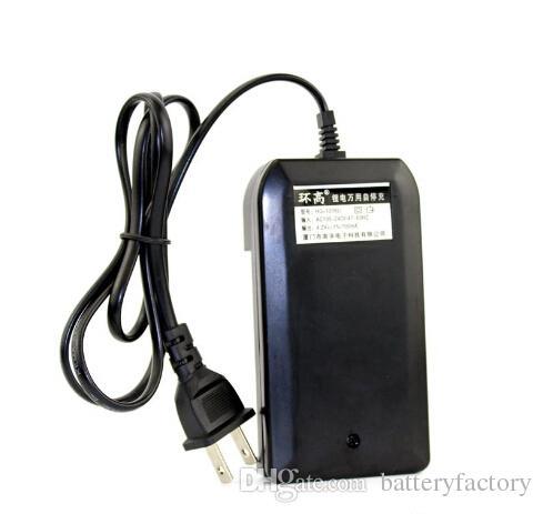 무료 DHL, 26650 18650에 대 한 브랜드의 새로운 Nanfu AC 듀얼 배터리 충전기 14500 3.7V 충전식 배터리 LED 손전등 HG-1206i