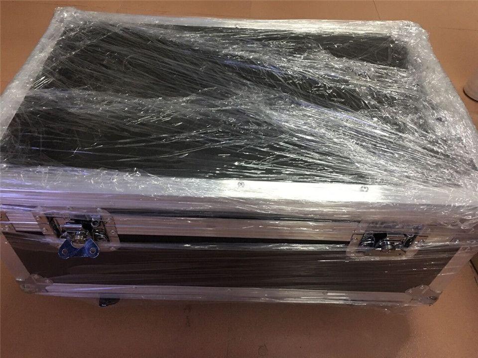 12x12W + flightcase + 1.2M كابل DMX LED شقة SlimPar رباعية ضوء LED 4IN1 DJ غسل ضوء المرحلة DMX ضوء مصباح 4/8 channes