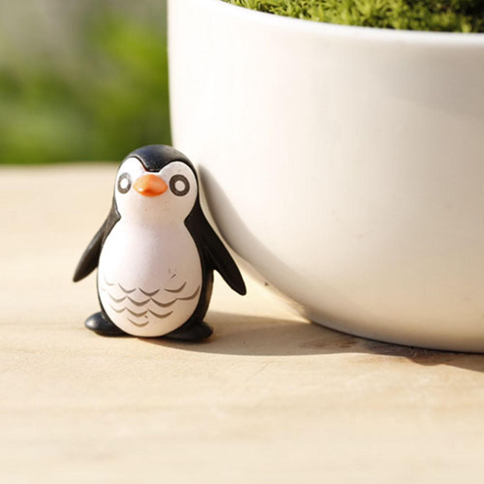 Out Indoor Cute Penguin Garden Decorative Home Desktop Decors Diy Christmas  Xmas Party For Garden Tile Decals For Shower Tile Decals Kitchen From  Wzq122, ...