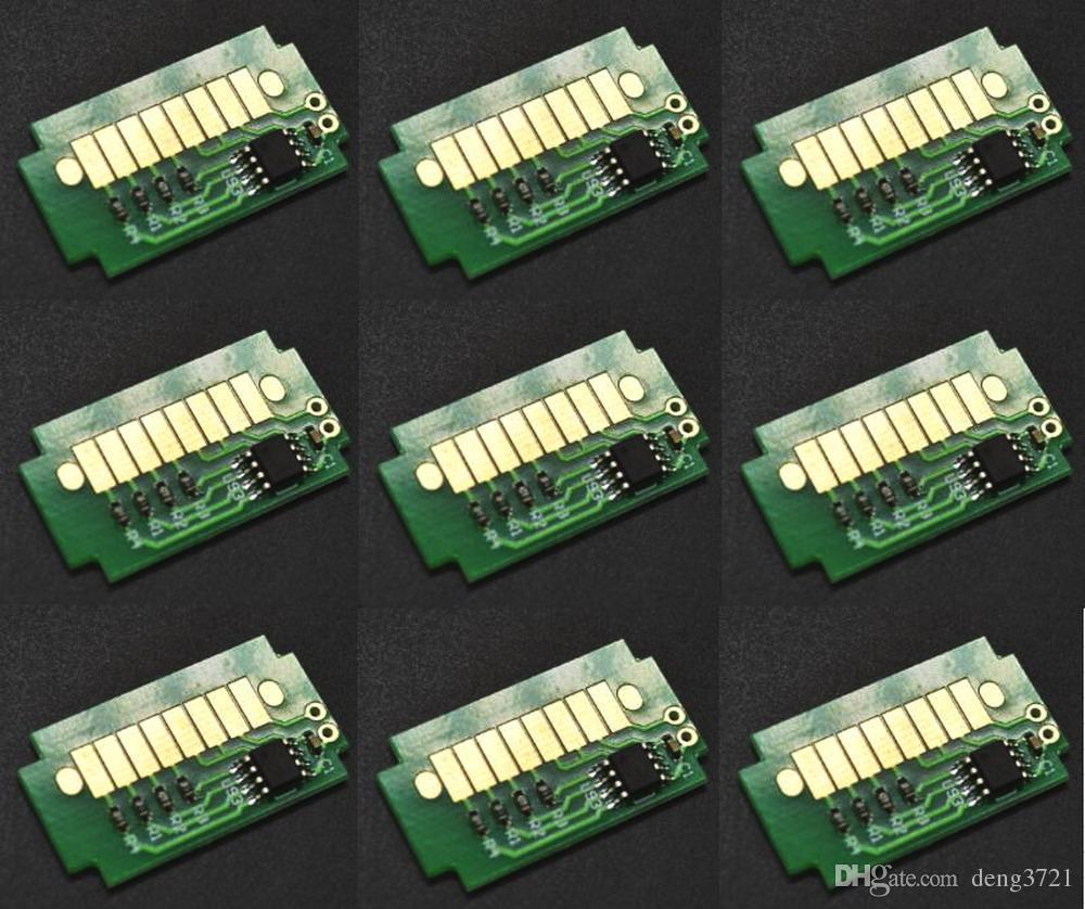 6 stuks / partij, compatibele Roland Advanced Jet AJ-740I-inktcartridge-chip. AI3-BK, CY, MG, YE, LC, LM 1000CC