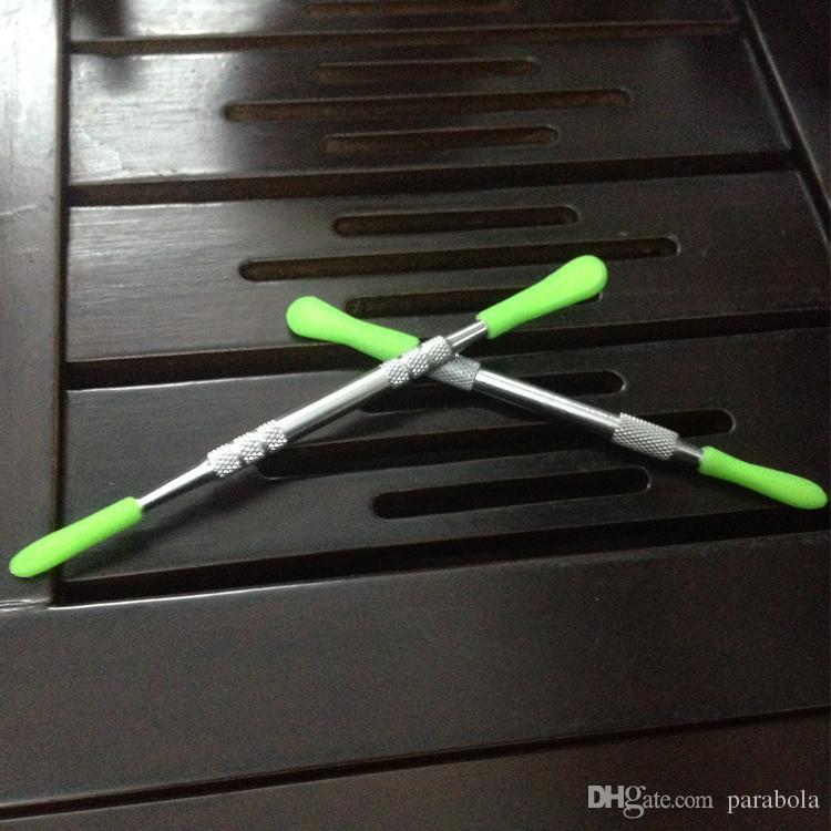 도매 왁스 dabber 도구 스테인레스 스틸 nonstick 실리콘 DAB 공구 자아 evod 왁스 atomizer 도구 VS 세라믹 도넛 탱크