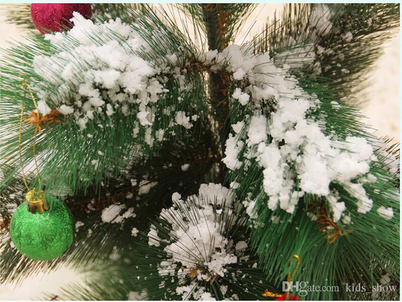 زينة عيد الميلاد الفورية الثلوج السحر الدعامة diy الفورية مسحوق الثلج الاصطناعي محاكاة الثلج وهمية للحزب ليلة