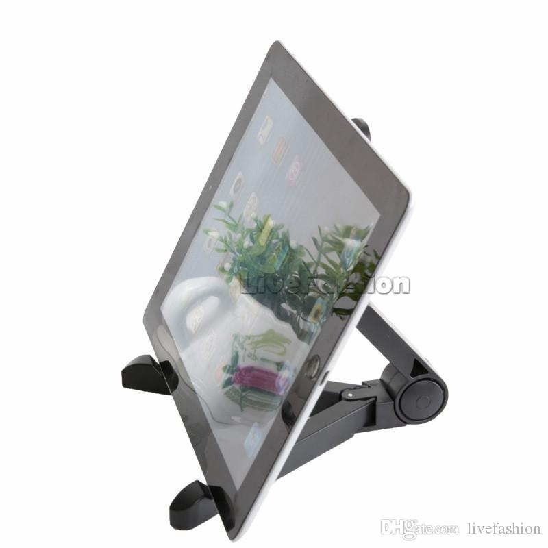 Universal Flexible Adjustable Fold-Up Stand Holder Portable Tablet Mount Bracket Tripod Cradle For iPhone Samsung iPad Mini Tablet PC Stand
