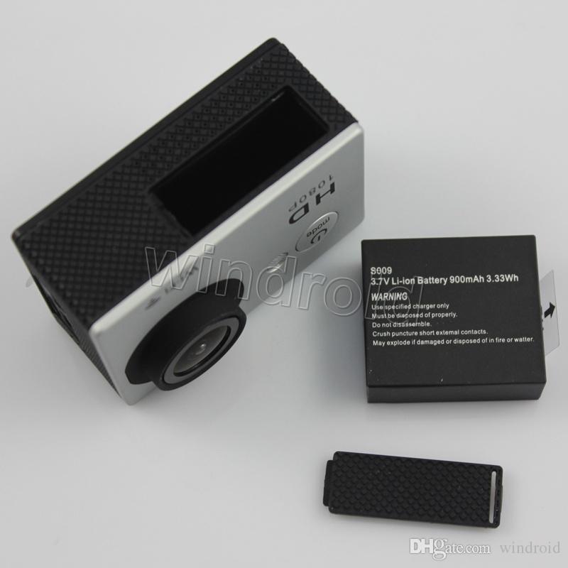 30M wasserdichte Sportkamera W9 1080P HD Action Kamera Tauchen 1080P 2.0