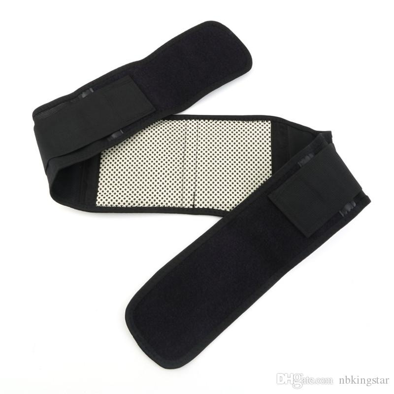 Adjustable Tourmaline Self-heating Magnetic Therapy Waist Belt Lumbar Support Back Waist Support Brace Double Banded S-XL
