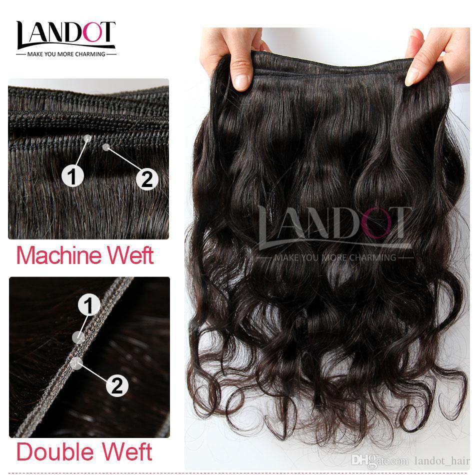 Peruanische Reine Haarkörperwelle 100% Menschliche Haarwebart Wellenförmige 3 Bundles Unverarbeitete Malaysische Indische Kambodschanische Brasilianische Haareinschlagfaden Natürliche Schwarz