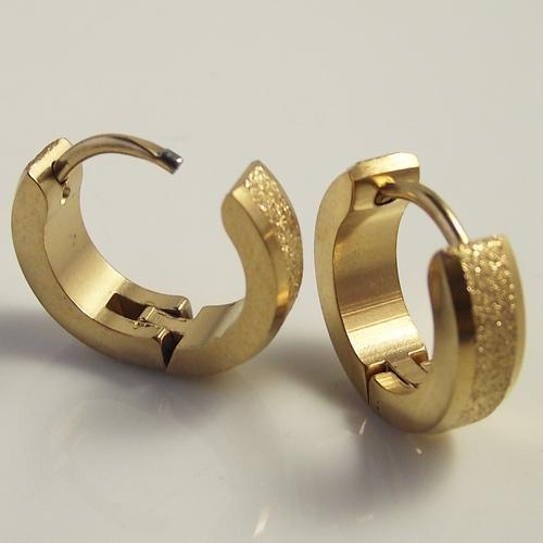 gold round sparkling ireland stud cz decorative earrings n