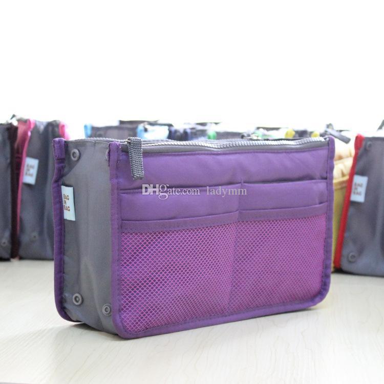 Nova Venda Make up organizador saco Das Mulheres Dos Homens saco de viagem Casual multi funcional Saco de armazenamento Saco de Cosméticos no saco Bolsa de 12 Cores