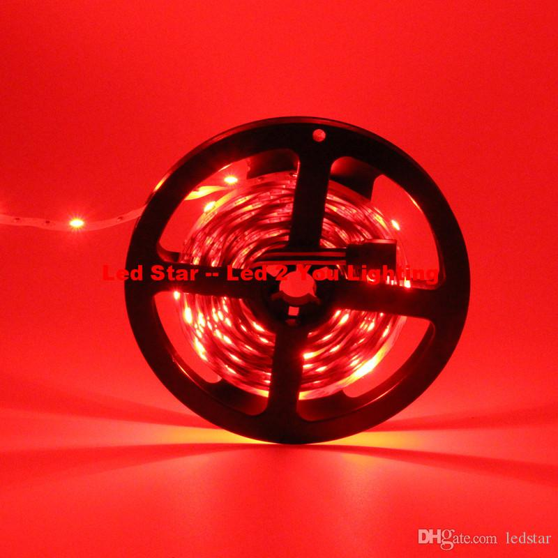 새로운 5M 150LEDs 5050 RGB Led 스트립 조명 12V 30LEDs / m 방수 Led 밧줄 유연한 스트립 조명 크리스마스 / 바 조명