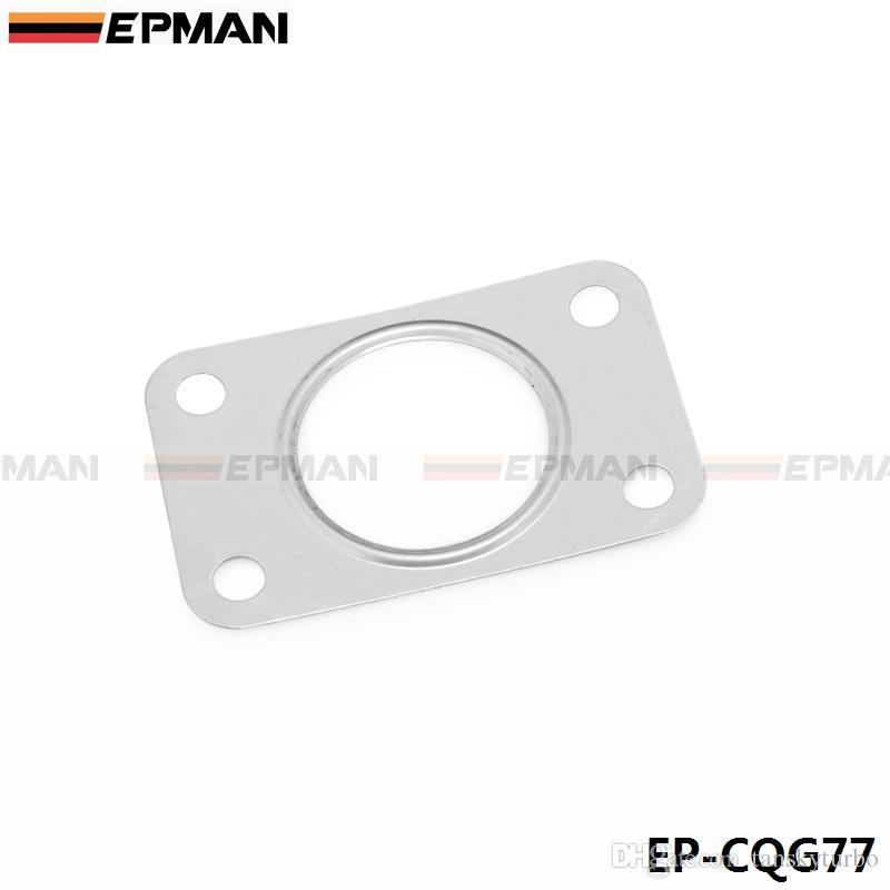 EPMAN Turbine Habitação e Downpipe / Cotovelo T304 Junta De Aço Inoxidável Para Saab 9-3 9-5 2.0 T 2.3 T 3.0 T EP-CGQ77