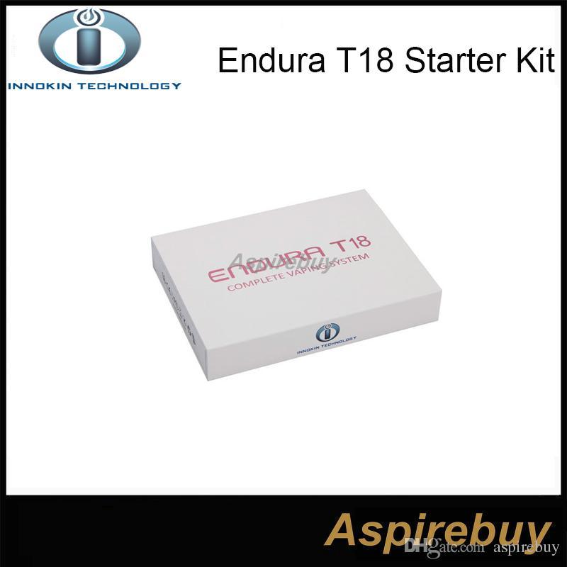 100% Original Innokin Endura T18 Kit 2.5mL Prism T18 Tank with 1000mah Innokin Endura T18 Battery ENDURA Innokin Starter Kit