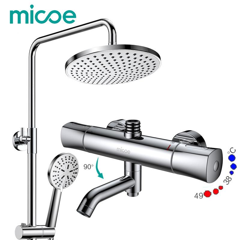 2018 Micoe Shower Set Intelligent Thermostatic Faucet Shower Nozzle ...