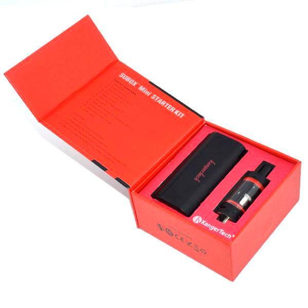 High clone Kangertech Subox Mini Starter Kit 50W 0.5/1.2 OCC RBA Coil Subtank Mini Kanger Subox Kit VS Subtank Nano NEBOX