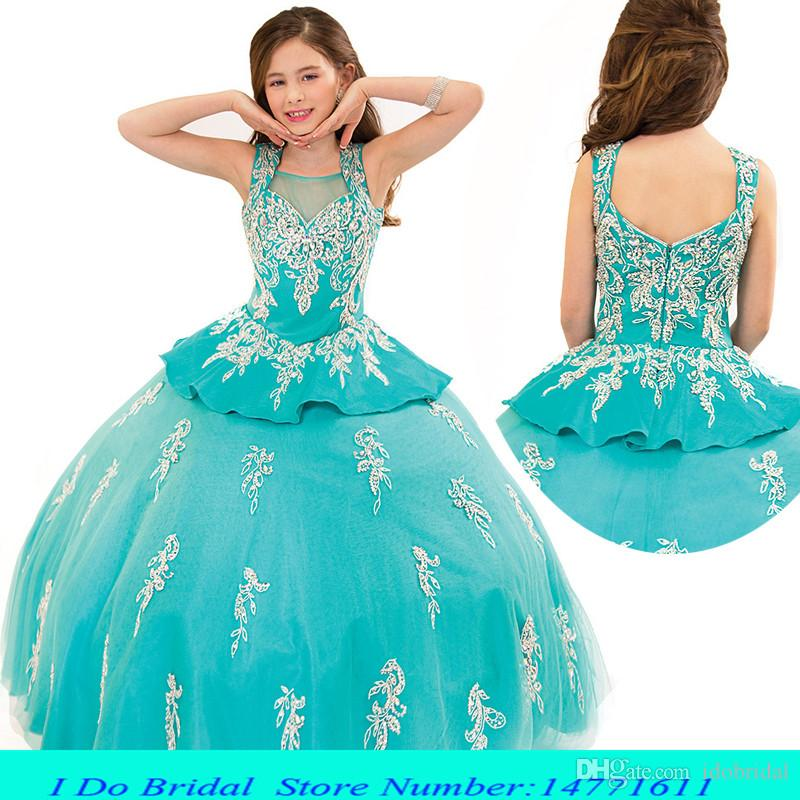 Pageant Ball Gowns For Girls Beauty Toddler Pageant Dresses For ...