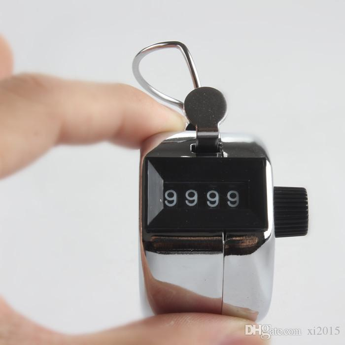 شحن مجاني 480 قطعة / الوحدة معدنية 4 أرقام عدد الفرس اليد تالي عداد للجولف