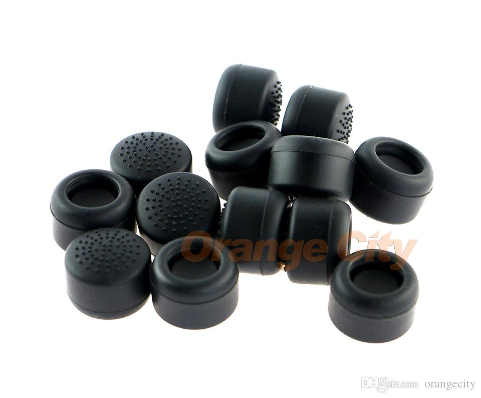 Enhanced Kit Silicone Analog Thumb Stick Grips Cap For Playstation 4 PS4 PS3 PS2 XBOX ONE XBOX360 Controlelr Thumbsticks Increase Height