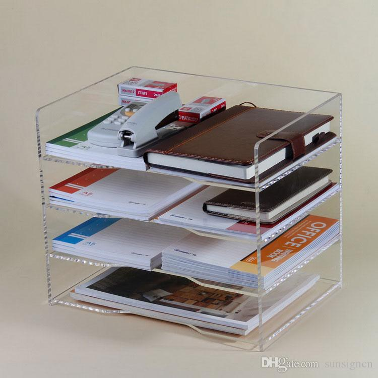 2018 Acrylic Multi Layers Holder Office Desktop Collection Display From Sunsigncn 46 24 Dhgate Com