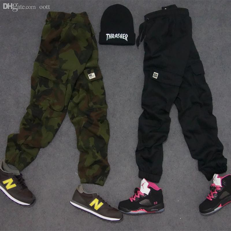 65ac9bdfeee 2019 Wholesale M 3XL Big And Tall Sweats Camouflage Hip Hop Cargo Kryptek Plus  Size Camo Pants Cool Tight Ankle Womens Joggers Sweatpants From Oott