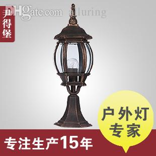 Amazing 2018 Wholesale Continental Antique Outdoor Lights American Mediterranean  Villa Courtyard Garden Lights Vintage Glass, Wrought Iron Lamps Waterp From  Hymen, ...