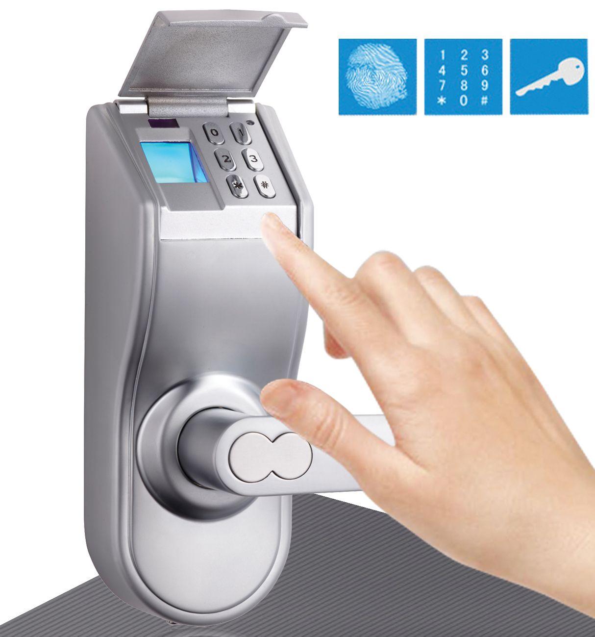 online cheap assa abloy digi digital electronic keypad door u0026 fingerprint door lock keylock 97 satin chrome right lever handle by digilock