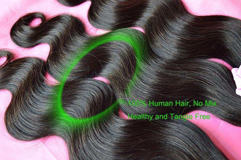 Brésilienne Corps Vague Ondulés Vierge de Cheveux Humains Weave Bundles Pas Cher Cambodgien Malaisie Péruvienne Indien Eurasian Extensions de Cheveux Naturel Noir 1B