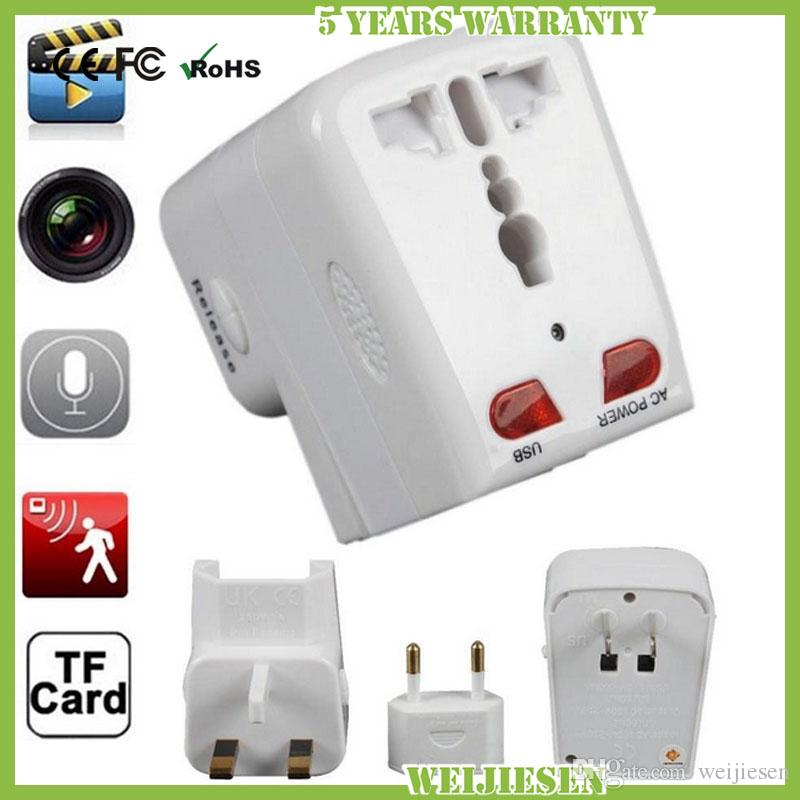 Mini Charger Spy Camera Socket Home Security Ac Adapter Hidden Dvr ...
