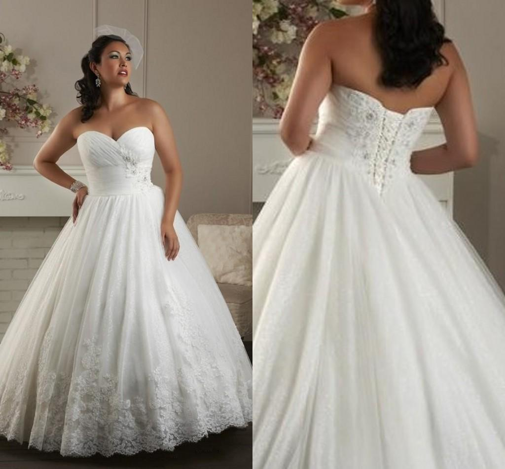 Plus Size Wedding Gowns 2015