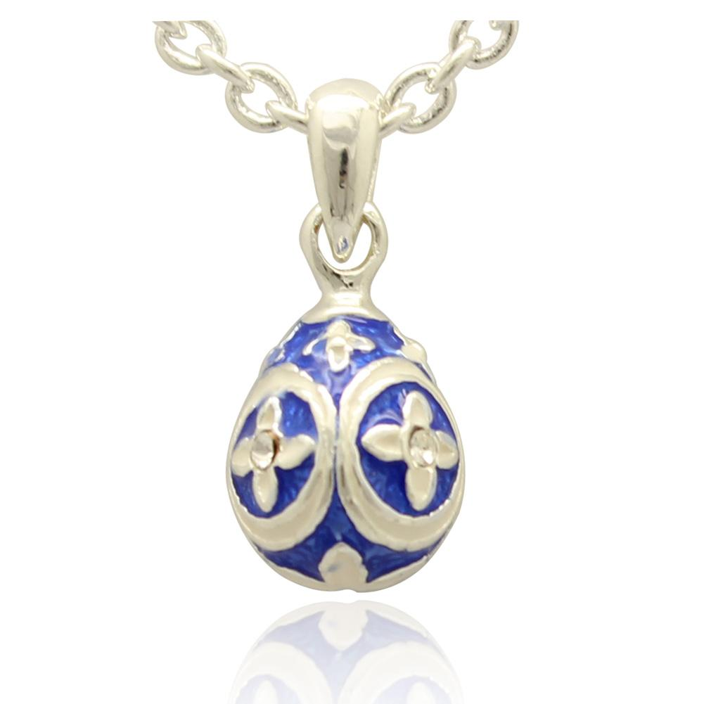 Wholesale mini silver color flower faberge egg pendant handcrafted see larger image aloadofball Gallery