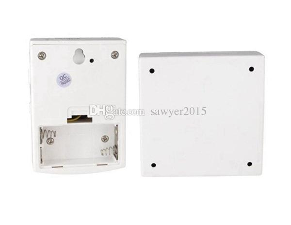 V06C Wireless door bell White LED Flashing Remote Control Doorbell Door Chime 38 Melodies battery power supply