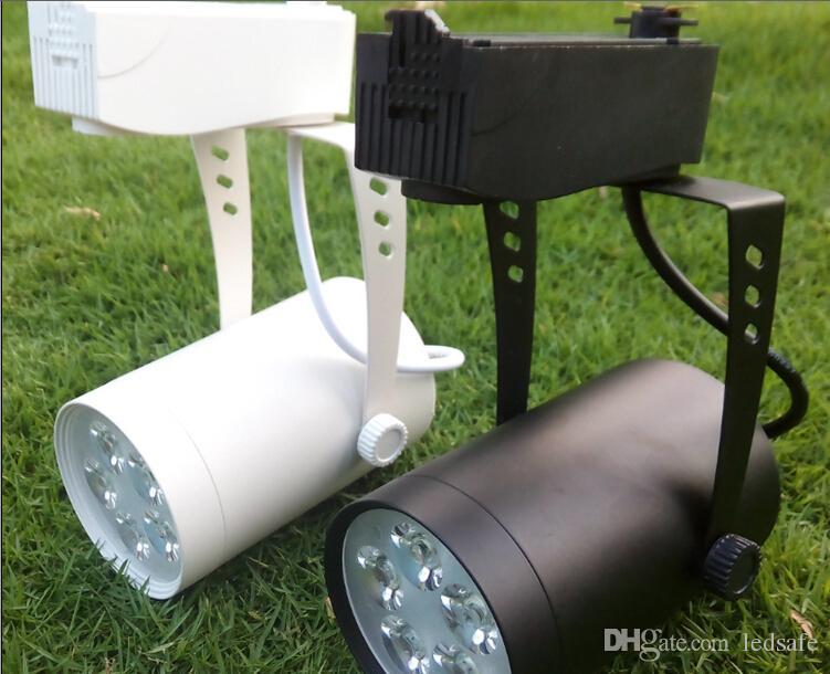 Bright LED Track Rail Spot Lights 5W 85-265V AC 500LM Lights Bulbs Lamp 5 Watt High Power Lighting Spotlights Lampada for Clothing Store CE