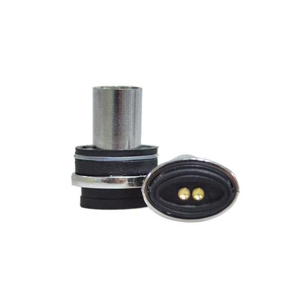 Bobina atomizzatore ricostruibile Testa Micro Dry Herb Vaporizzatore Wax Vapor Pen Elips Flat Shape E Sigaretta Bobina Core