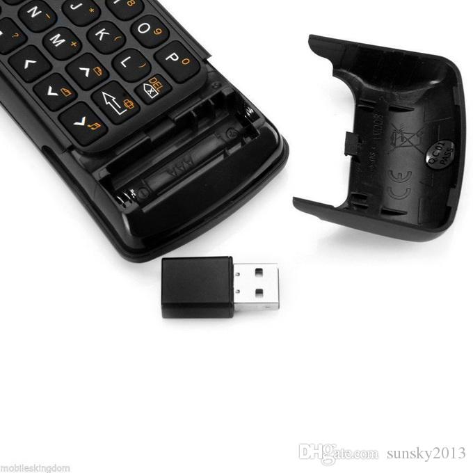 MINIX NEO A2 Lite Air Mouse 2.4Ghz Wireless Mini Keyboard Remote Control for Windows OS X Android Linux Media Player TV Box