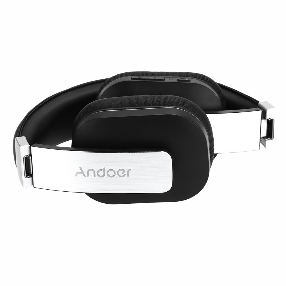 F5 sans fil Bluetooth 4.0+ EDR casque musique écouteur pliable casque réglable mains libres avec micro pour iPhone LG
