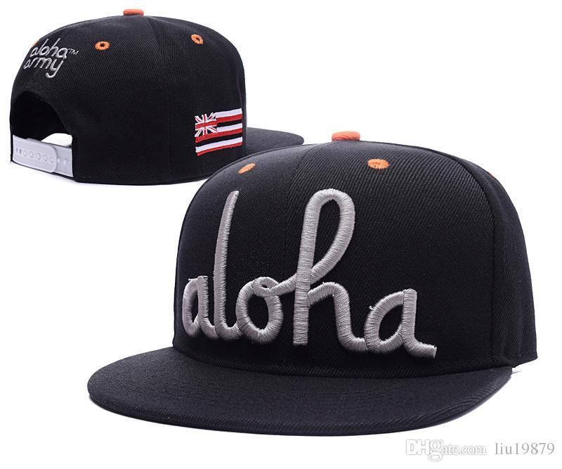 be1dfe2f94b 2018 Brand New Mens Aloha Army Adjustable Men Women Outdoor Baseball ...