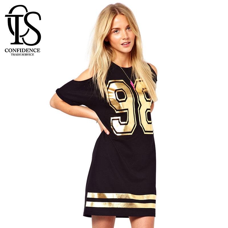 2018 2015 Summer Style Casual Women Dress Black Sexy Off Shoulder