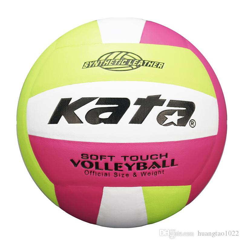 462f7aba90 Official Size 5 PU Volleyball Handball Beach Game Match Ball Outdoor ...