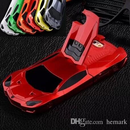 super popular 48dd8 38f53 For iphone 6 6G 4.7 inch Racing Sport Car Cool Hard plastic Brand Case tire  tyre Stand Holder Holster Kickstand skin cover cases