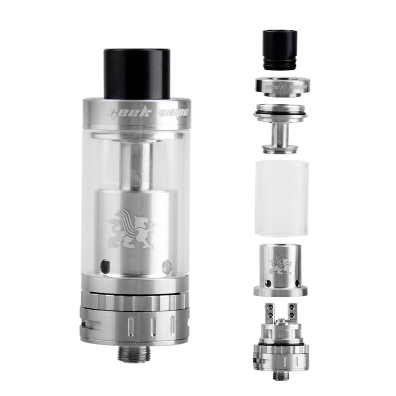 GeekVape RTA Tank Black SS 3.5ml Griffin Top Refilling Rebuidable Atomizer with Velocity Style Deck vs Avocado RTAc OBS Crius Herakles Plus