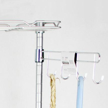 Wire Shelving Parts | Grosshandel Wire Shelving Parts Cross Bar Mit Haken Verchromt Von