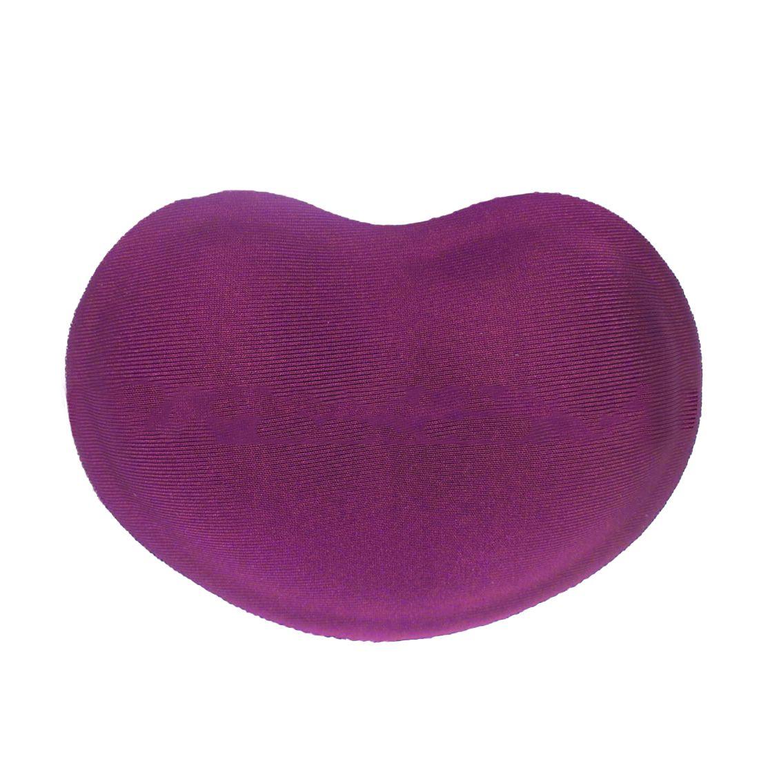 Etmakit Good Sale Heart-shaped Comfort 3D Wrist Rest Silica Gel Hand Pillow Memory Cotton Mouse Pad For Office