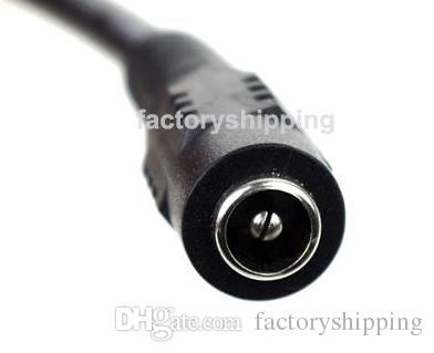 DC 1 Female to 8 Male Power Splitter Adapter Cable Jack 2.1mm for CCTV Security Cameras
