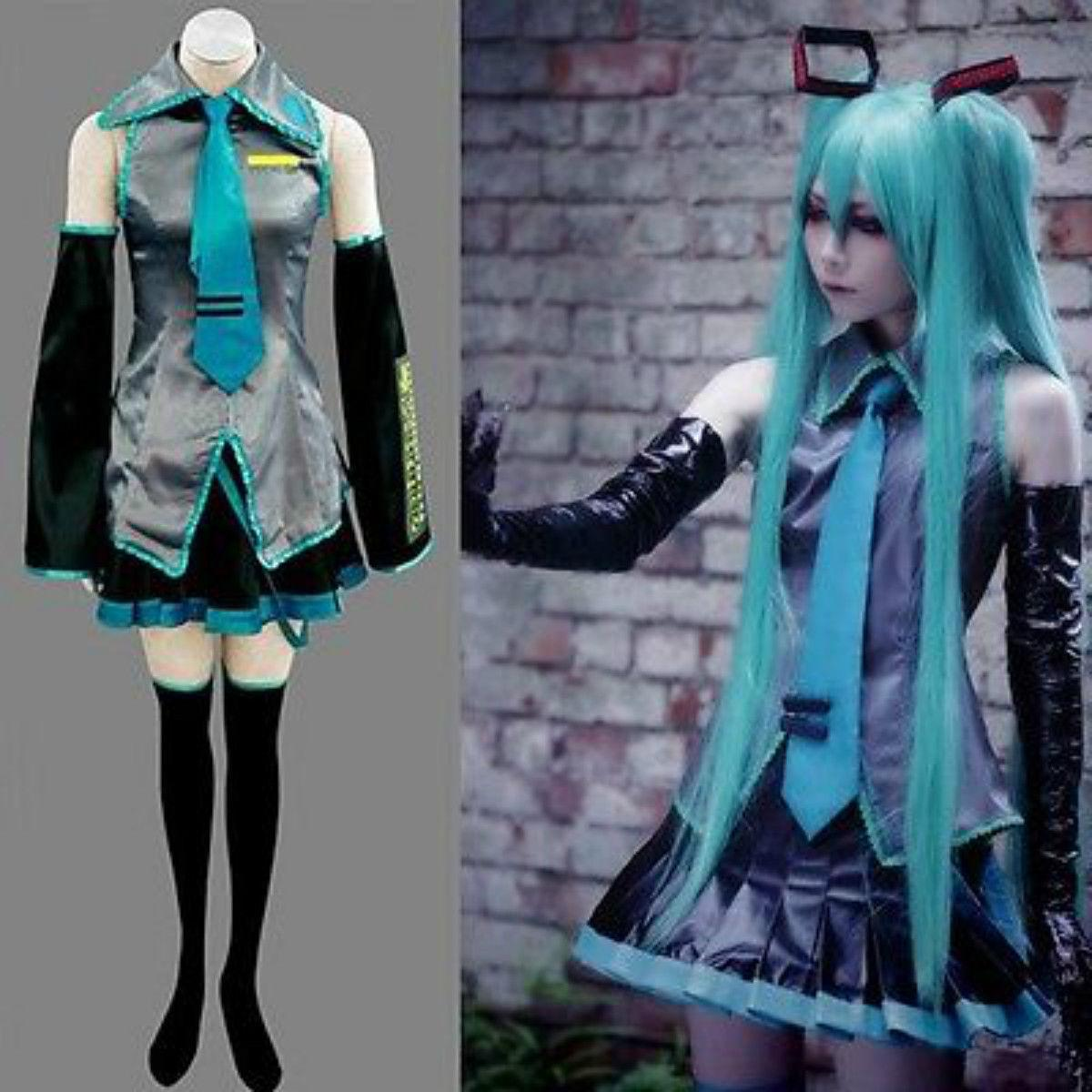 Details About New Vocaloid Hatsune Miku Cosplay Anime Costume A Team Costume Dress Themes For Parties From Friendshop $30.16| Dhgate.Com  sc 1 st  DHgate.com & Details About New Vocaloid Hatsune Miku Cosplay Anime Costume A Team ...