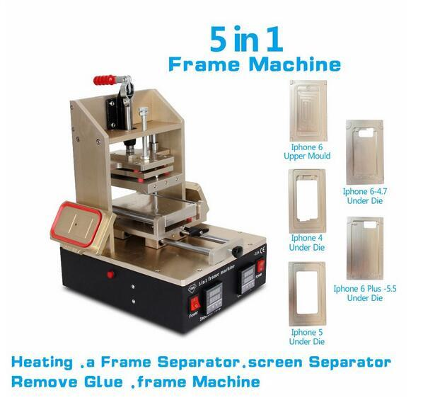 5 In1 Universal Lcd Screen Separator Glue Remover Frame Laminating ...