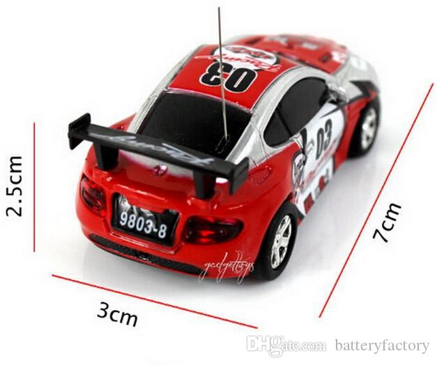 2016 New 4CH RC car New Coke Can Mini speed RC Radio Remote Control Micro Racing cars Toy Gifts Promotion