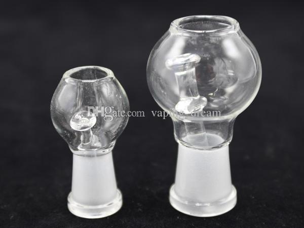 Verre barboteur 14.4mm femme Rig Joint Oil Glass bols pour le verre d'eau Bong les bangs