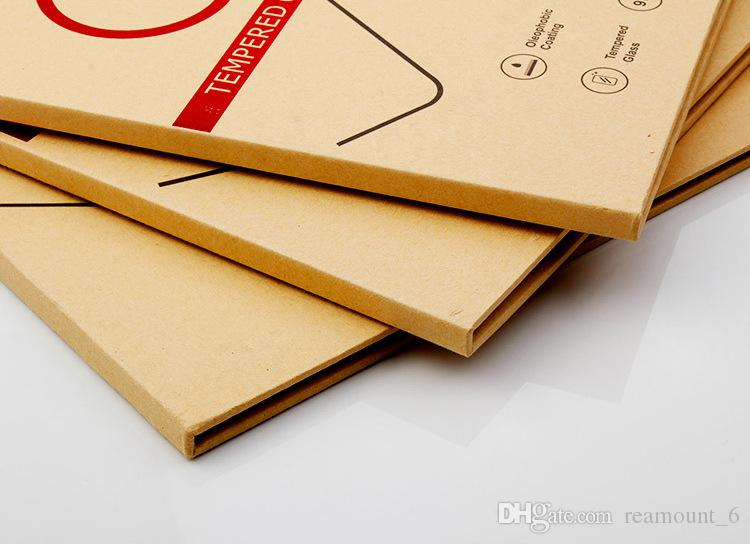 """Wholesale Paper Packaging Box Kraft Paper Box for iPad Tempered Glass for 8"""" 10"""" 13"""" Screen Protector with"""
