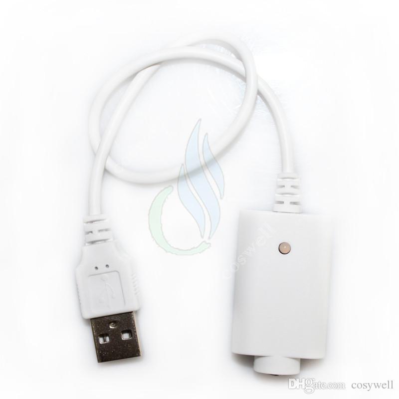 USB EGO Ładowarka Elektroniczna ładowarka papierosowa z IC Protect ego t Evod Vision Spinner 2 Mini Mods Pary Bateria Białe Czarne Ładowarki