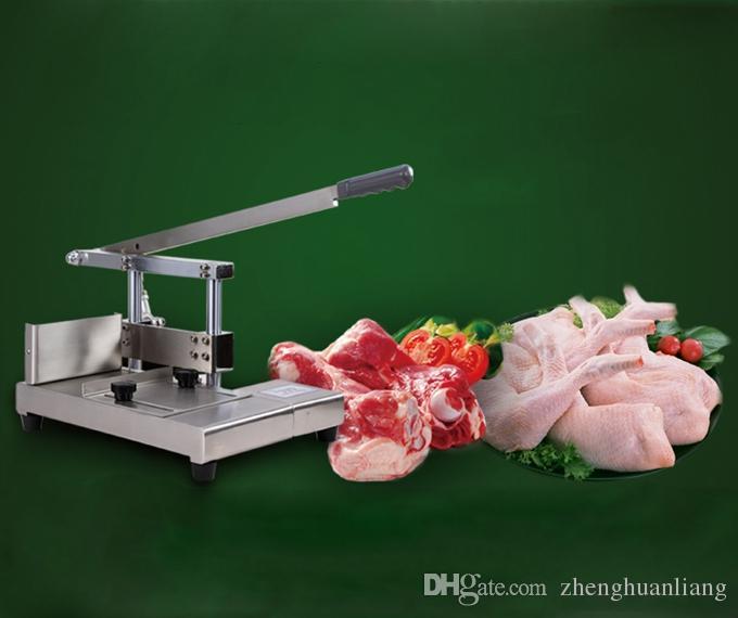 Schneiden Schweinefleisch Knochel Knochen Schneidemaschine Knochensäge Maschine Schneiden Große Knochenmaschine Schnitt Guillotine BT201
