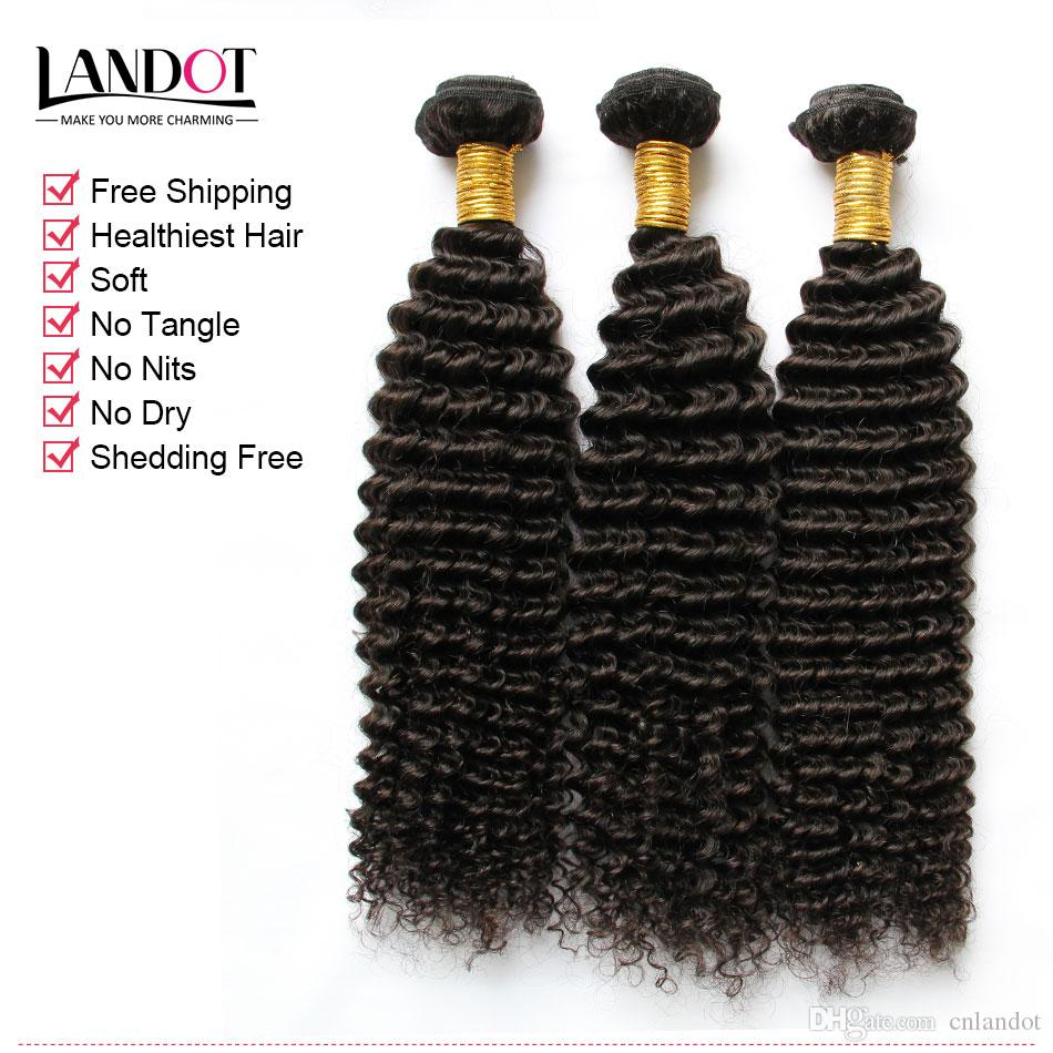 Cambodian Kinky Curly Virgin Hair With Closure 7A Grade Unprocessed Human Hair Weave 3 Bundles And Top Lace Closures Natural Black Weft